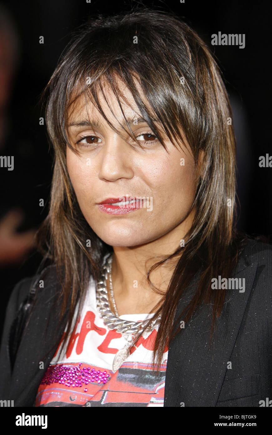 AMANDA GHOST VODAFONE LIVE MUSIC AWARDS ROUNDHOUSE CAMDEN LONDON 11 October 2006 - Stock Image