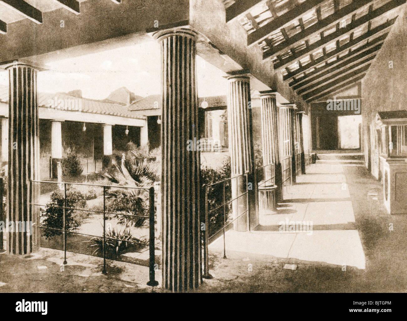 Casa degli Amorini Dorati, Pompeii, Italy, c1900s. Artist: Unknown Stock Photo