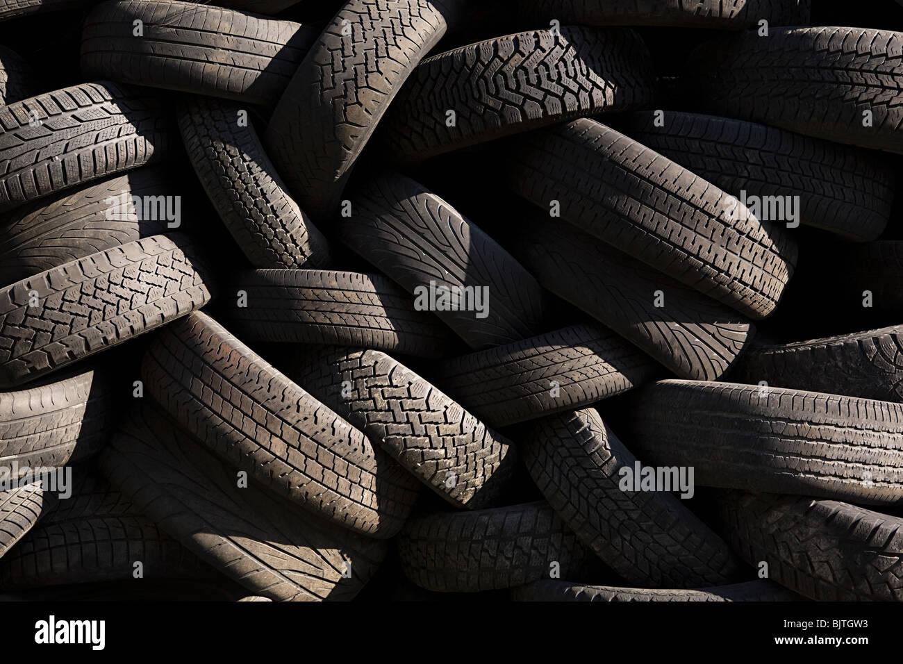 Tyres - Stock Image