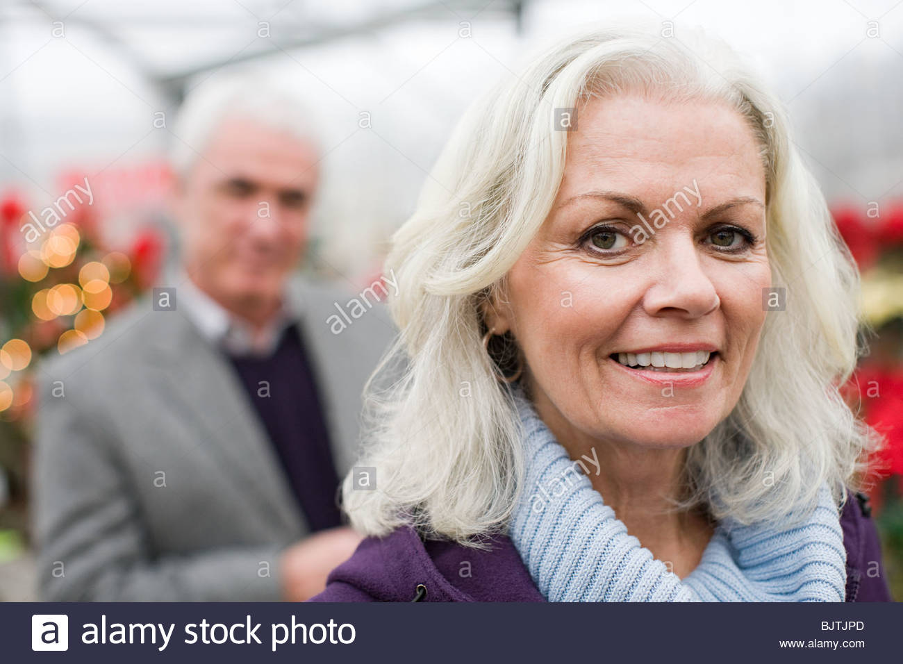 Mature couple - Stock Image