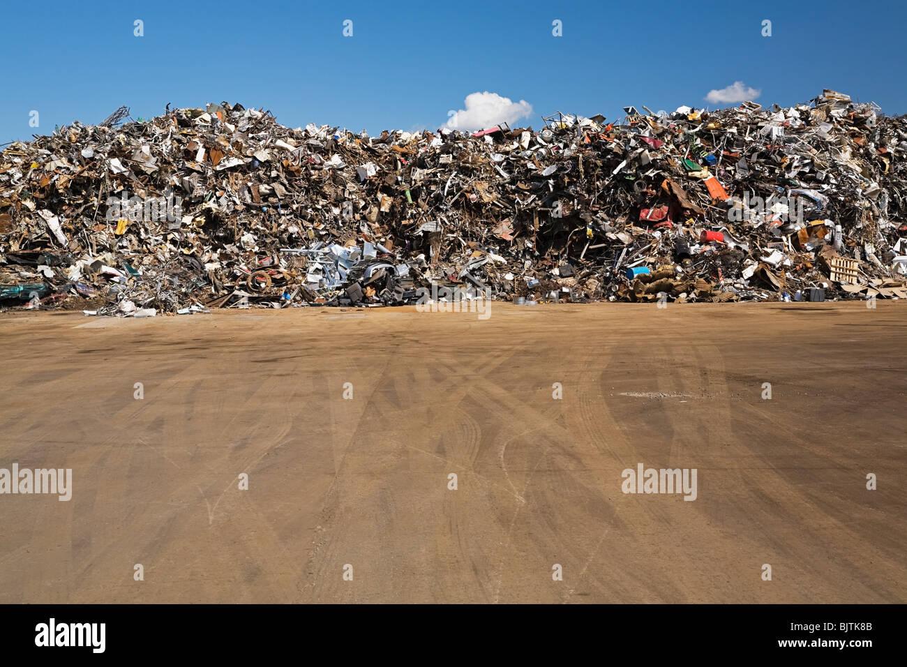 Scrap heap - Stock Image