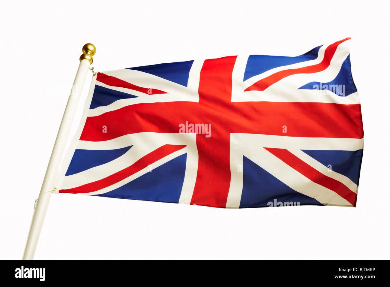 The Union Jack Flag Stock Photo