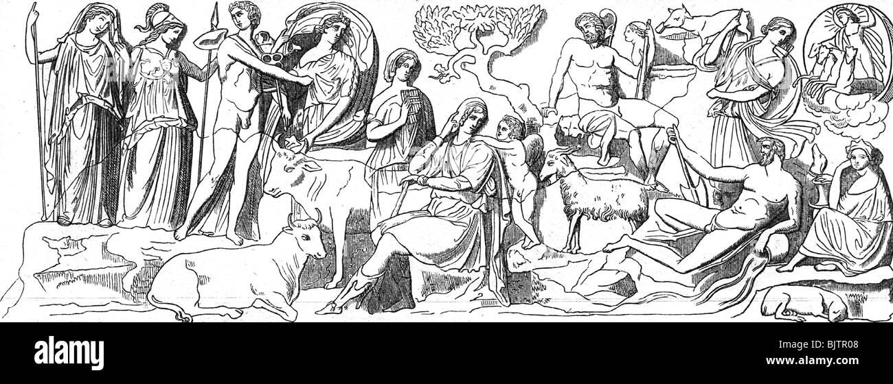 greek god of literature