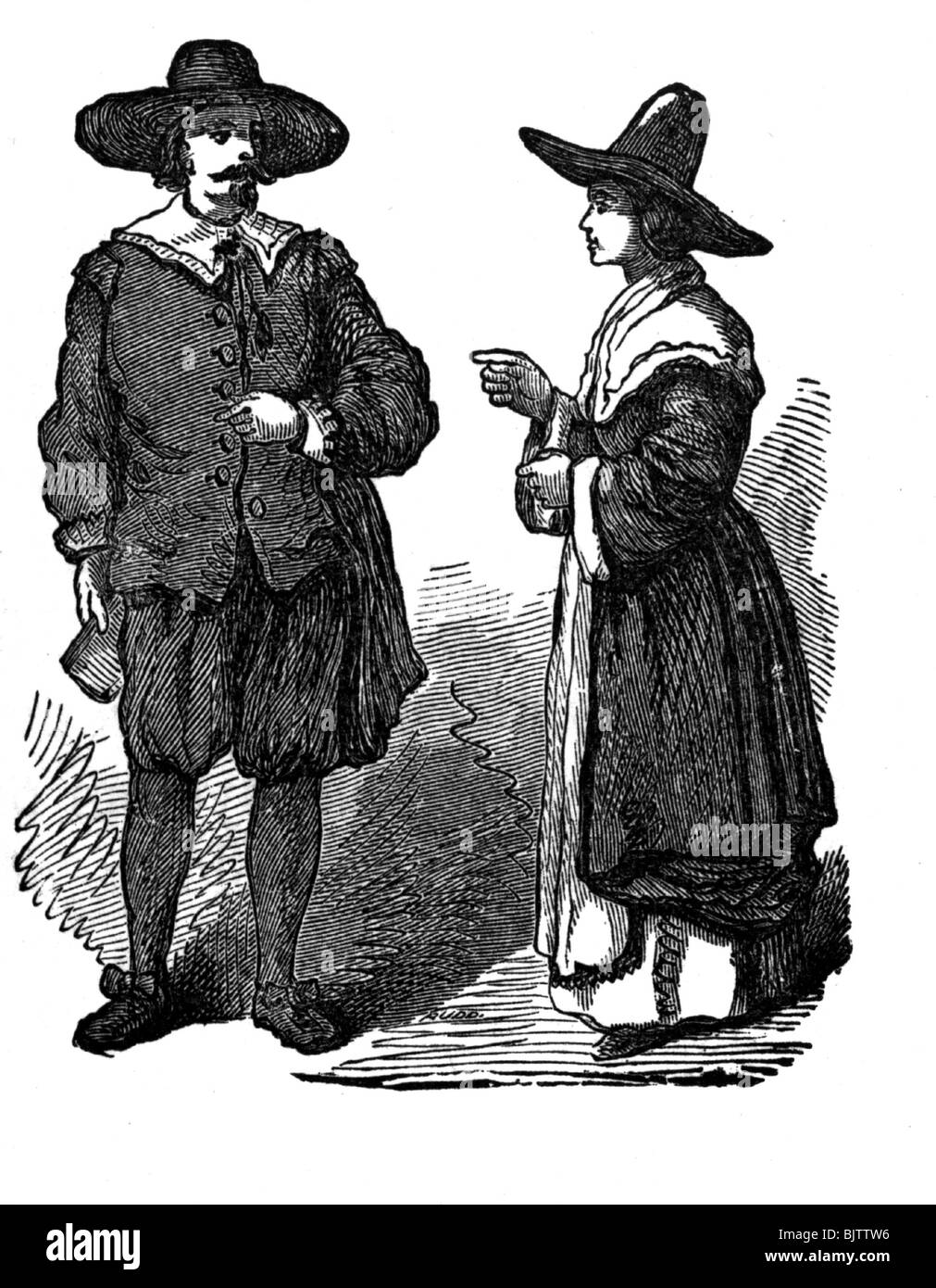 a look at the traditional english courtship in the 17th century In the early modern period, customs of courtship and marriage were undergoing significant shifts throughout the medieval period, money, class or alliance governed and regulated marriage as europe modernized, however, the puritans and others began to champion the novel idea of marriages based.