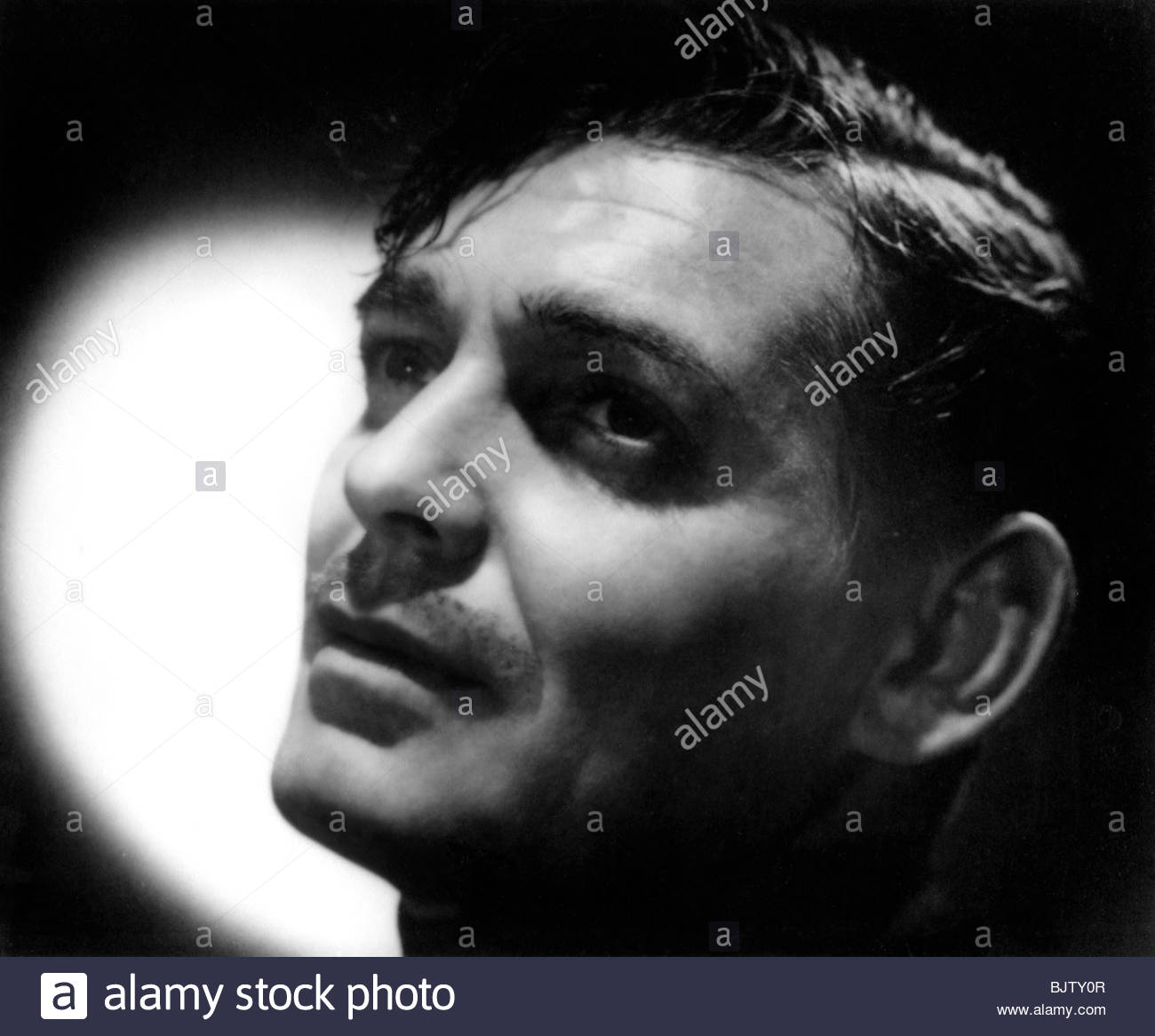 Clarke Gable, American actor and film star, 1938. - Stock Image