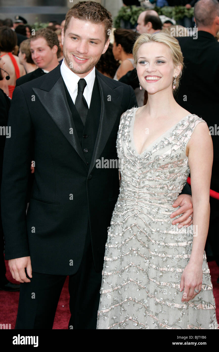RYAN PHILLIPPE REESE WITHERSPOON 78TH ACADEMY AWARDS KODAK THEATRE HOLLYWOOD LOS ANGELES USA 05 March 2006