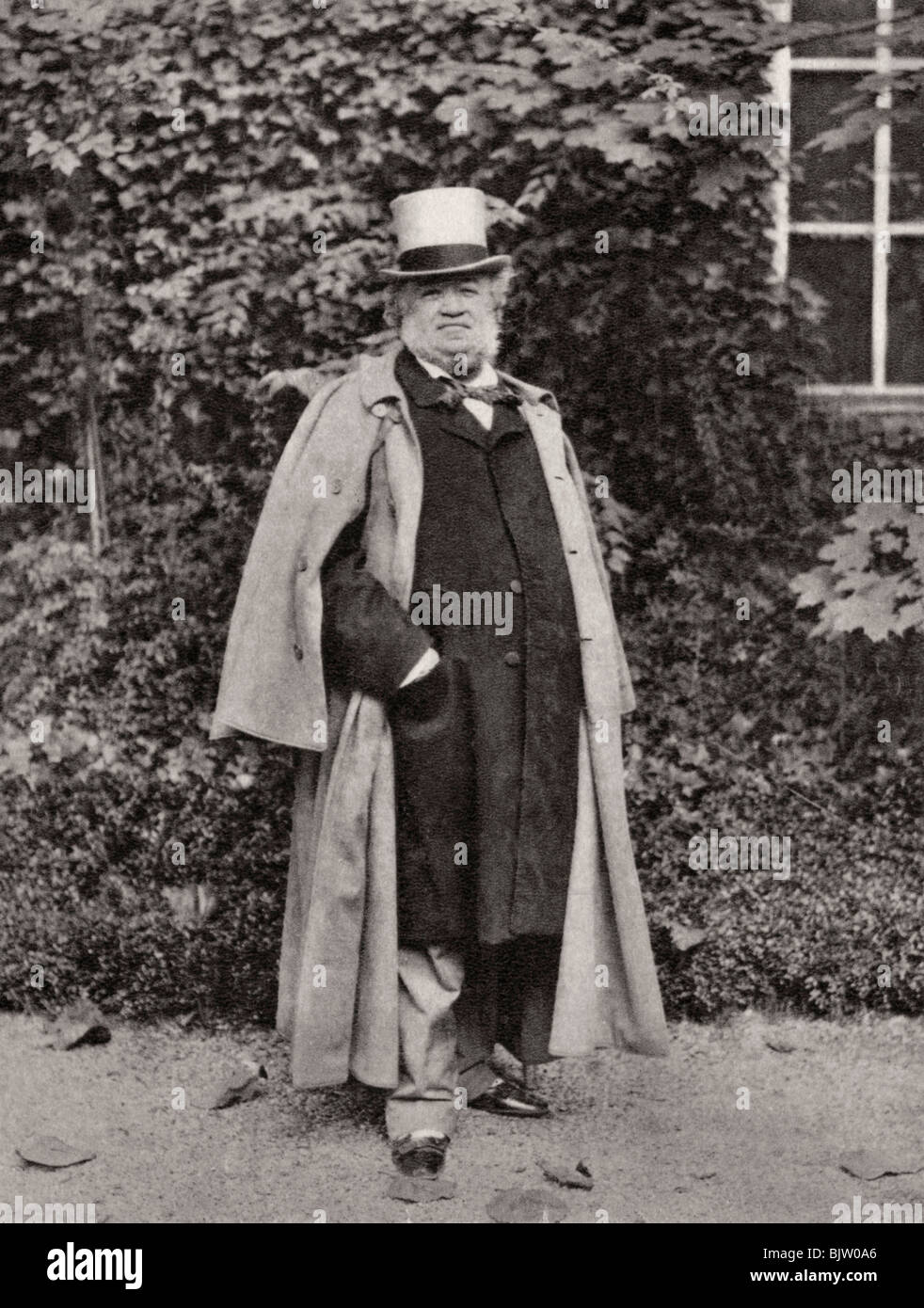 Camille Groult, French art collector, 1903. - Stock Image