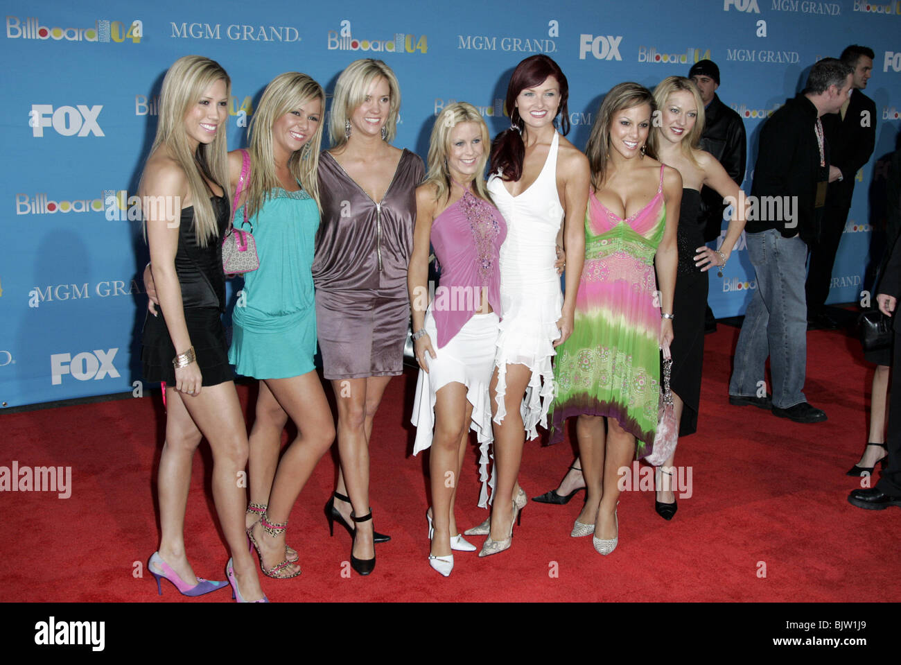 AUSSIE ANGELS 2004 BILLBOARD MUSIC AWARDS MGM GRAND GARDEN ARENA MGM GRAND HOTEL LAS VEGAS US 08 December 2004 - Stock Image