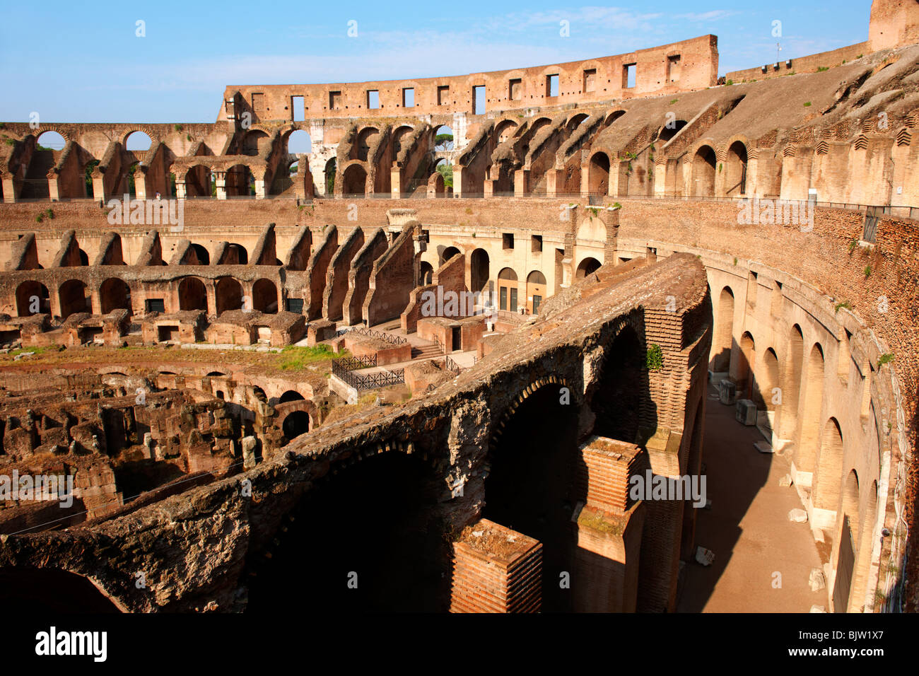 Coloseum ( Colosseo) . Rome - Stock Image