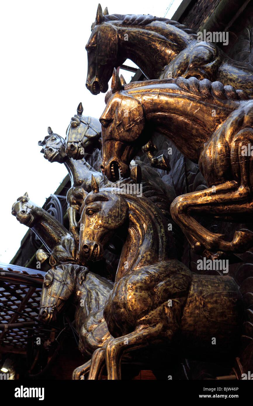 united kingdom london camden lock stables market - Stock Image