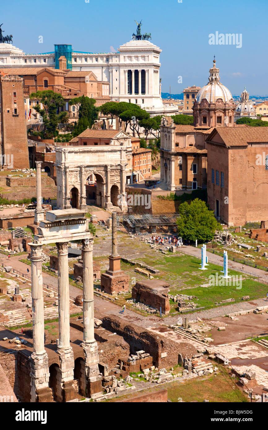 The Forum Rome - Stock Image
