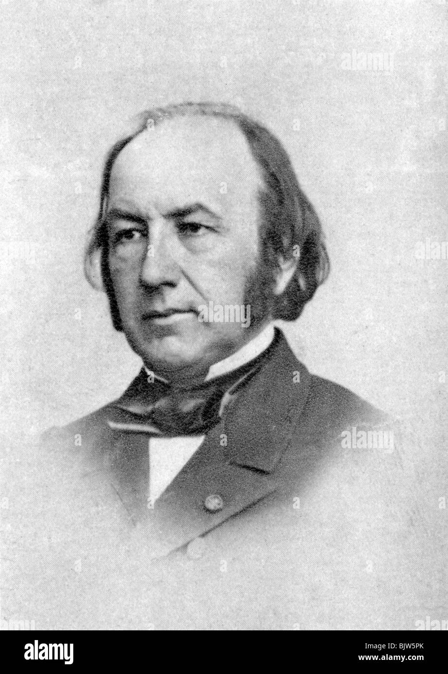 Claude Bernard, French physiologist, 1876. - Stock Image
