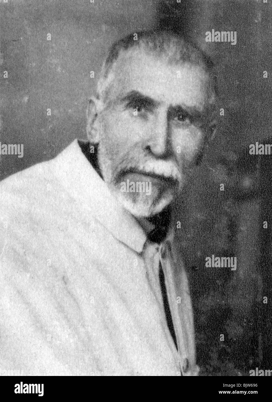 Pierre Paul Emile Roux, French physician, bacteriologist and immunologist, 1928. - Stock Image