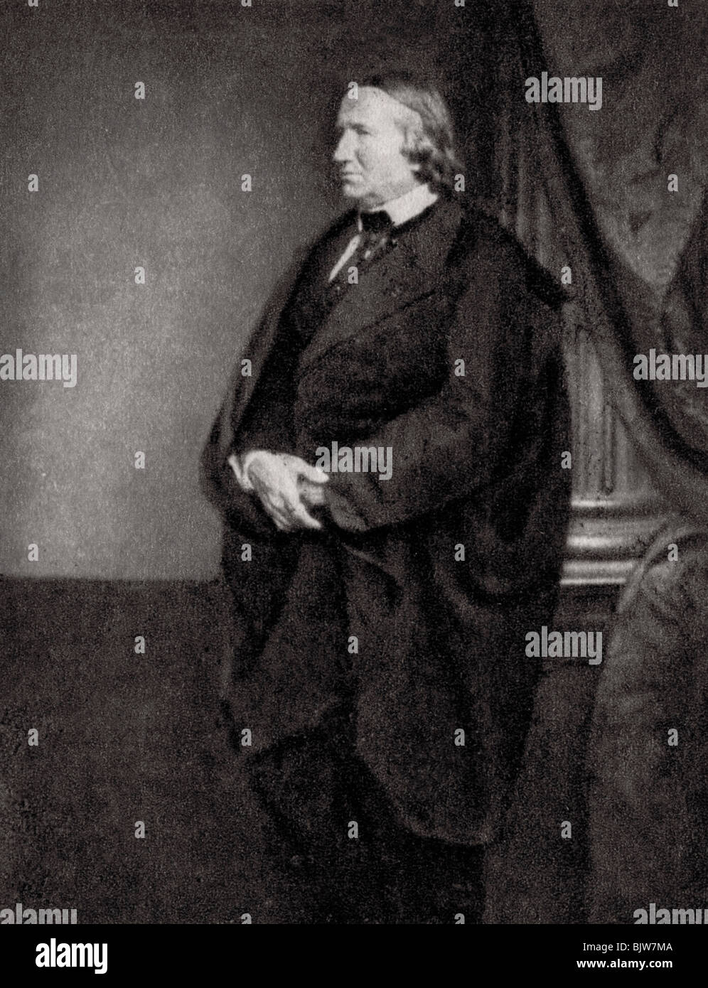 Alfred de Vigny portrait