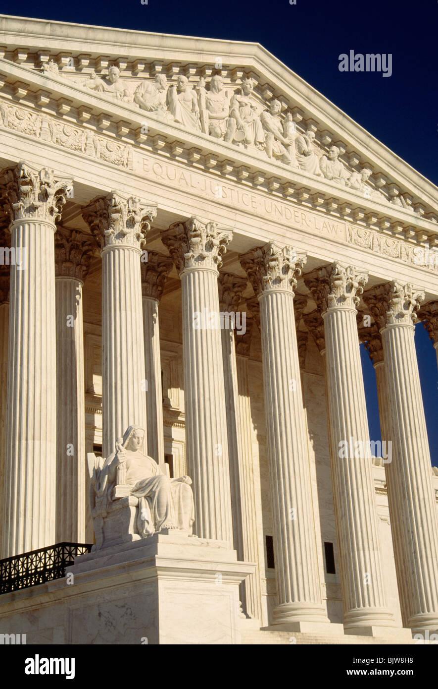 United States Supreme Court, Washington DC - Stock Image