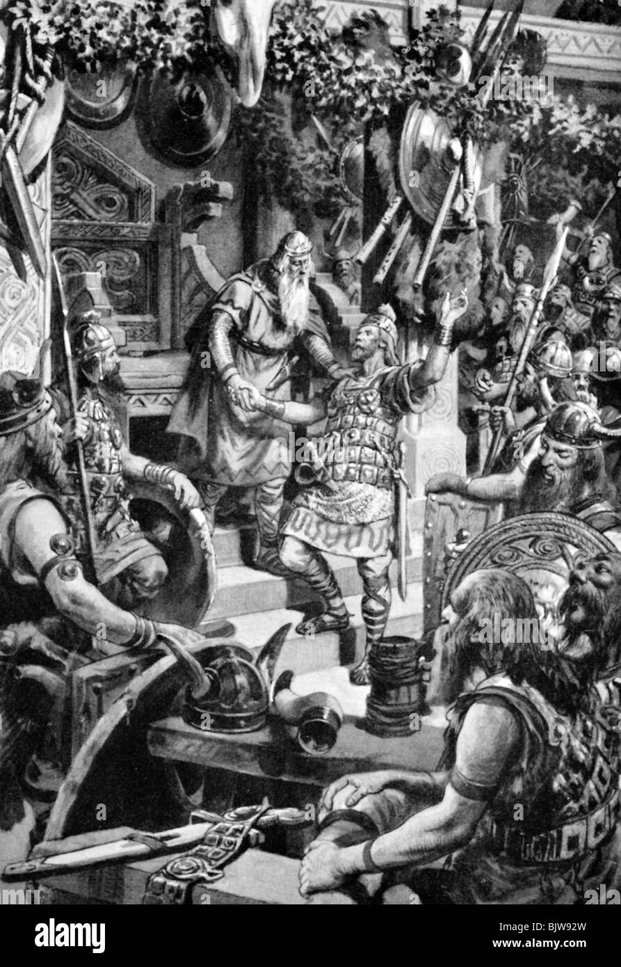 an analysis of heroism in beowulf in old english literature Beowulf, the old-english epic poem,  the function of heroism in beowulf  the image of women in old english literature.