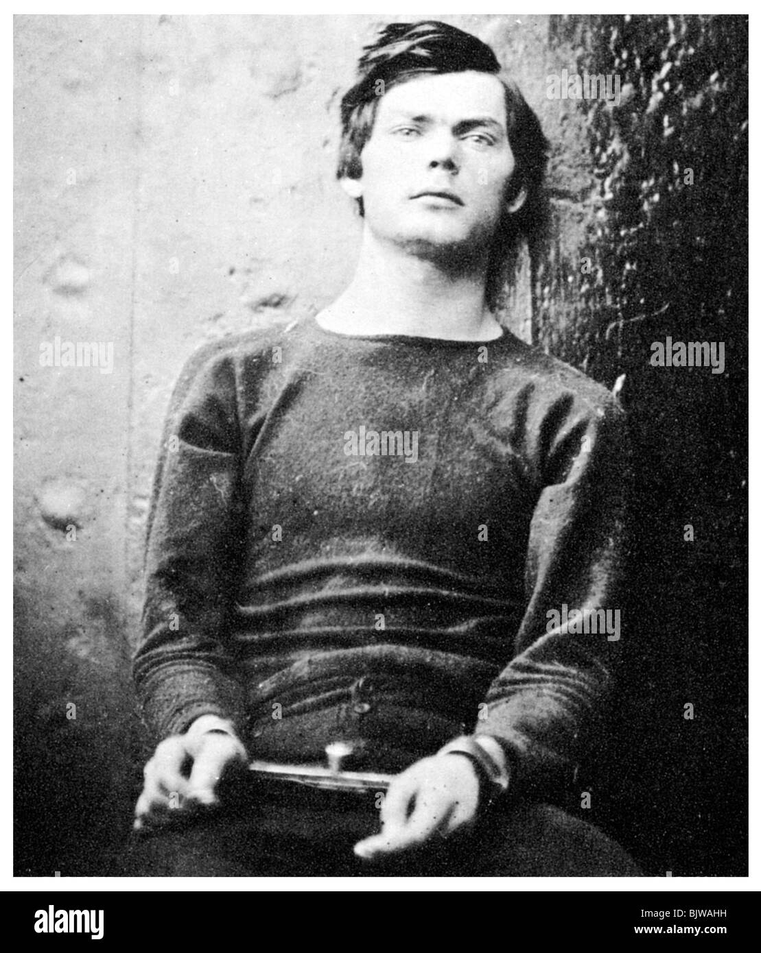 Lewis Powell, member of the Lincoln assassination plot, 1865 (1955). - Stock Image