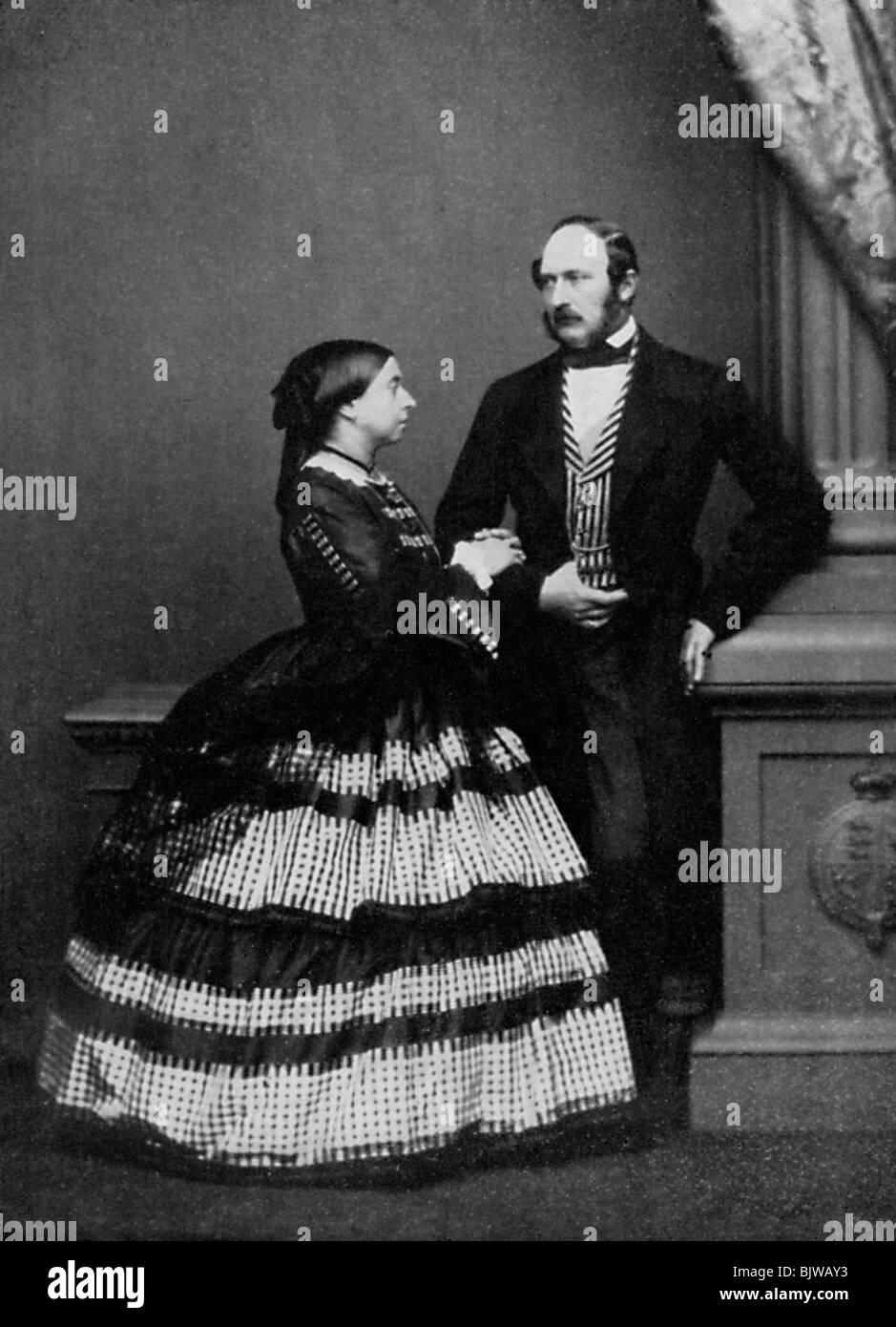 Queen Victoria and Albert, Prince Consort, 1861 (1964). - Stock Image