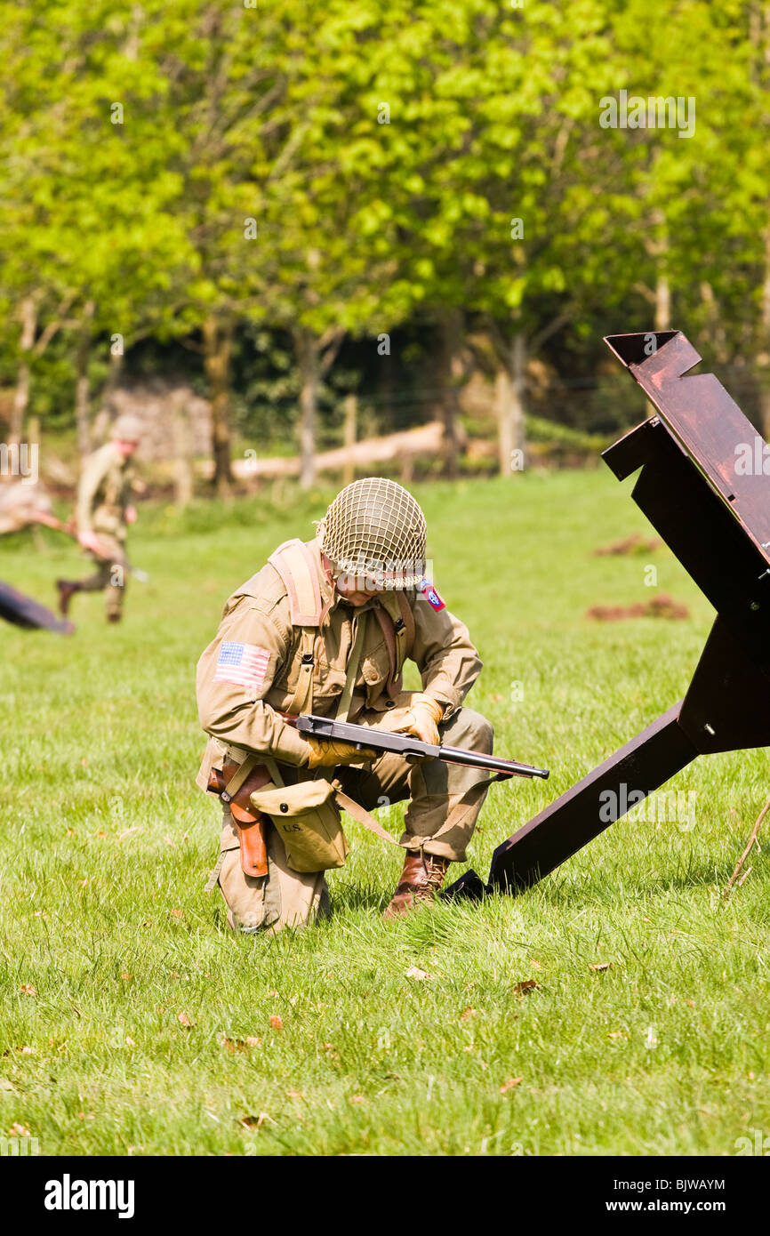 Ww2 American Soldier High Resolution Stock Photography And