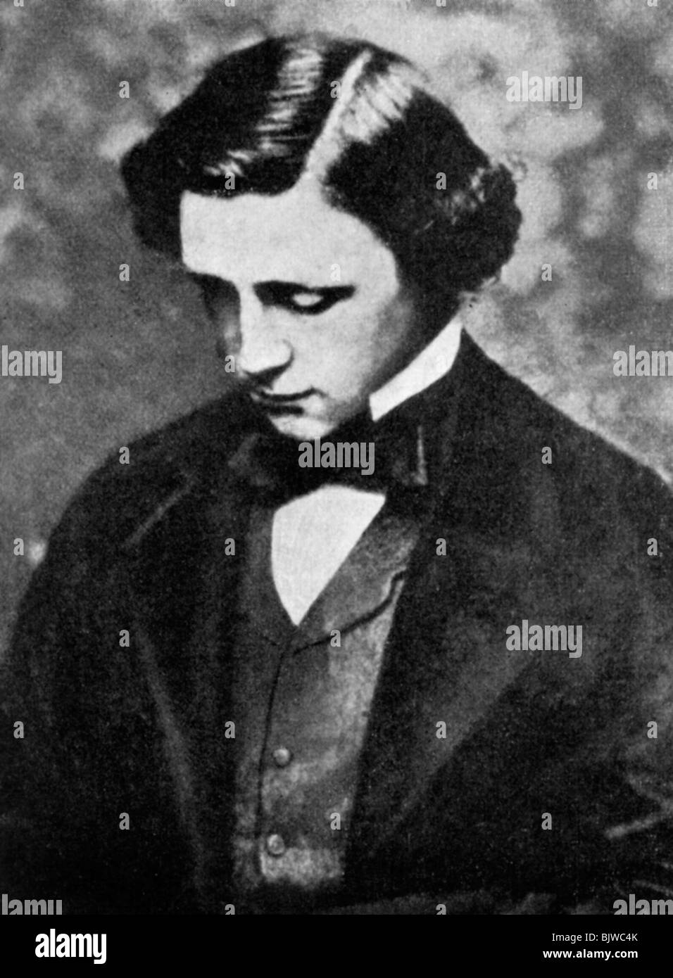 Lewis Carroll, English author, 19th century (1951). - Stock Image