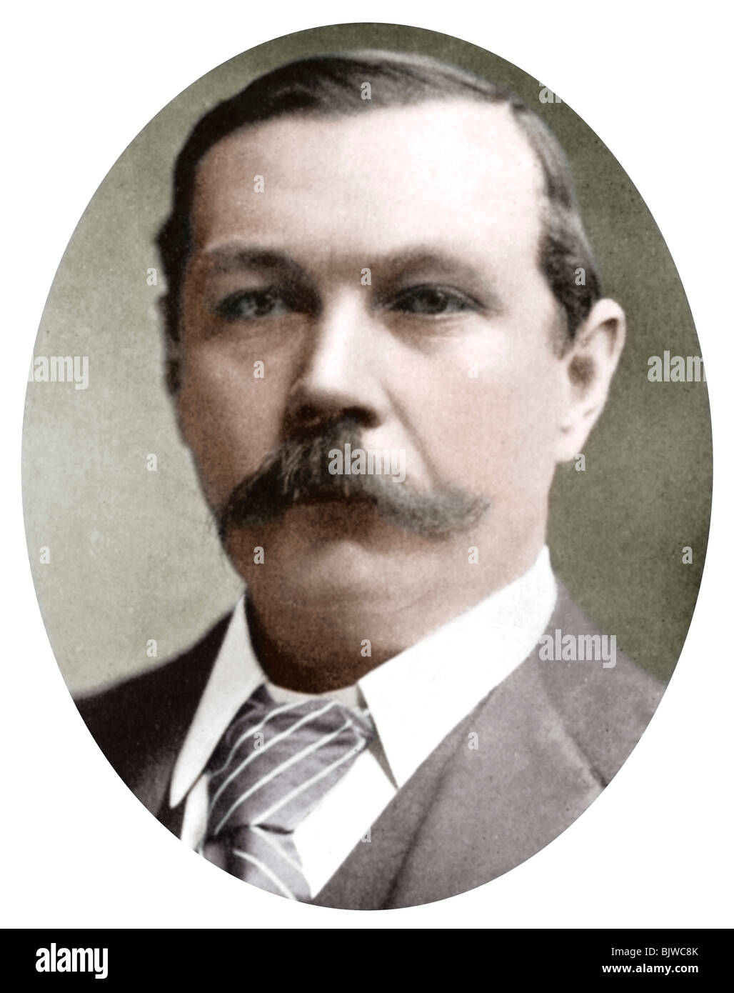 Arthur Conan Doyle, Scottish writer, c1900. - Stock Image