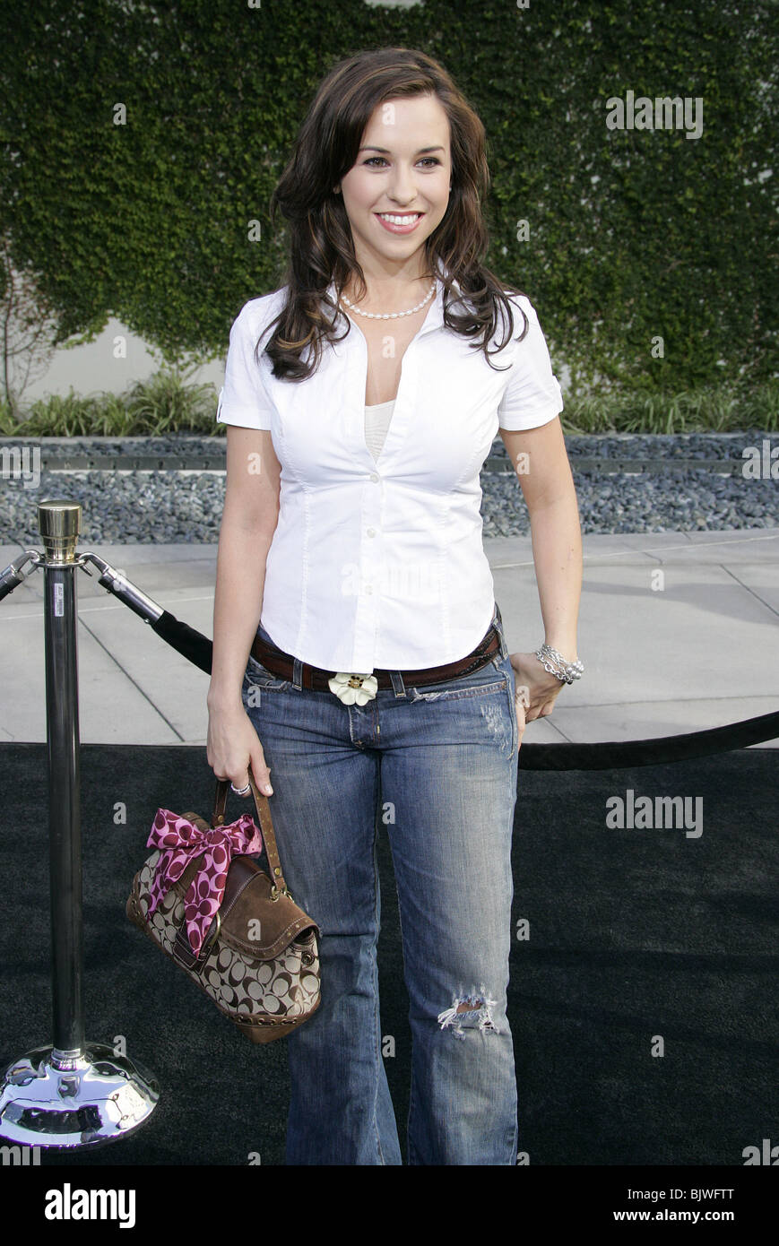 LACEY CHABERT LEMONY SNICKET'S A SERIES OF U CINERAMA DOME HOLLYWOOD Stock Photo: 28835432 - Alamy