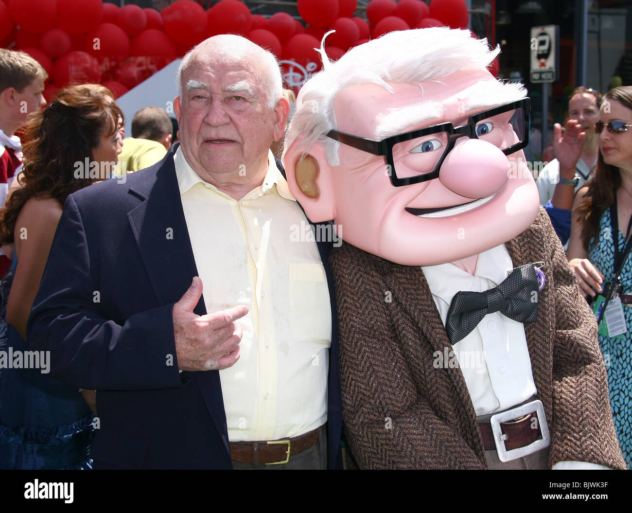 Ed Asner Carl Fredricksen Up High Resolution Stock Photography And Images Alamy