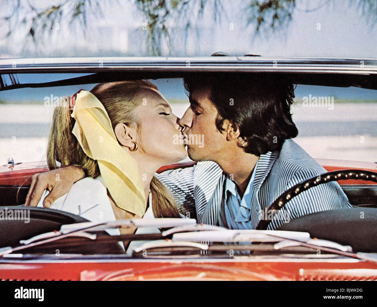 HOW  DO I LOVE THEE - 1970 ABC film - Stock Image
