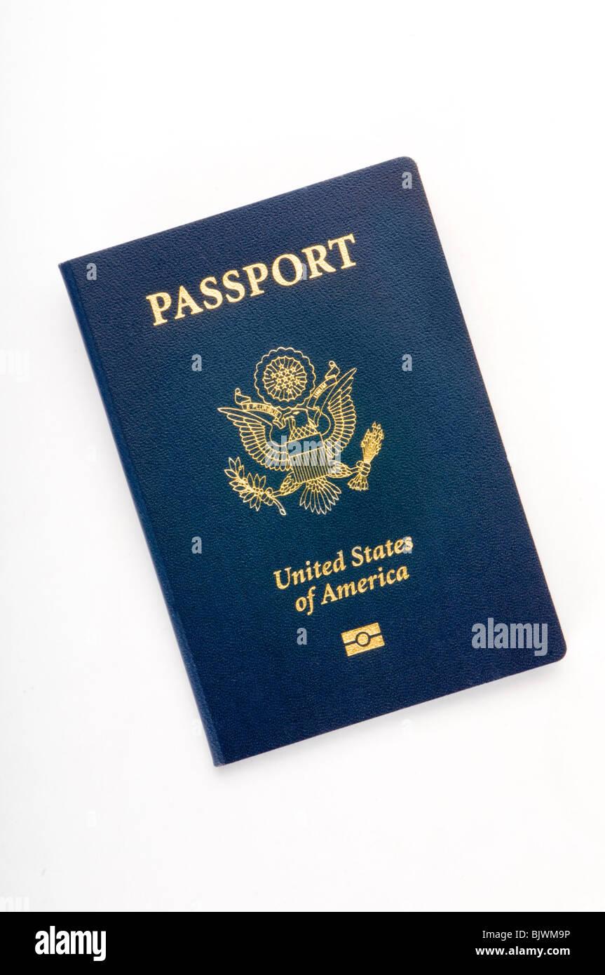 american passport - Stock Image