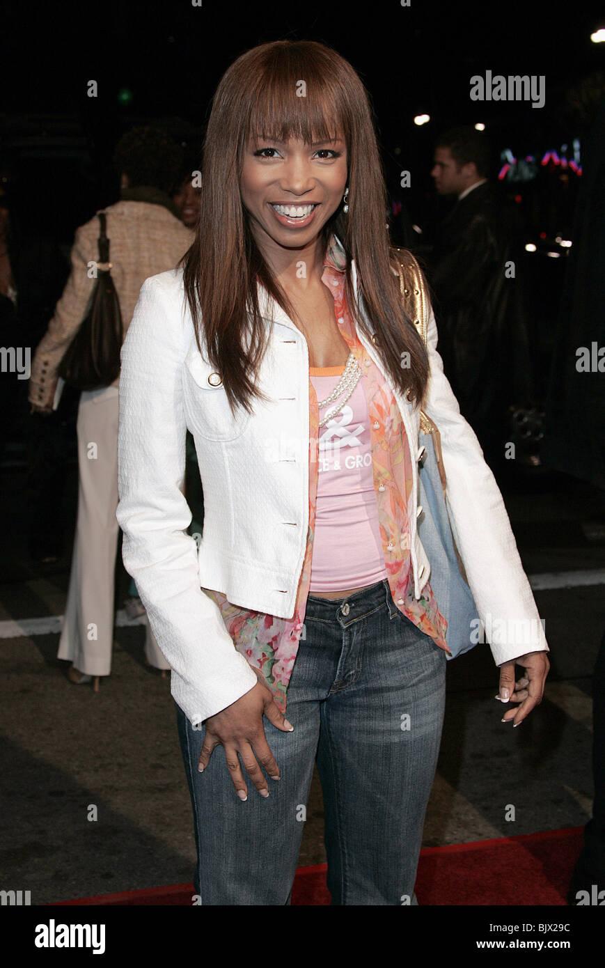 ELISE NEAL BEAUTYSHOP FILM PREMIERE WESTWOOD LA USA 24 March 2005 - Stock Image