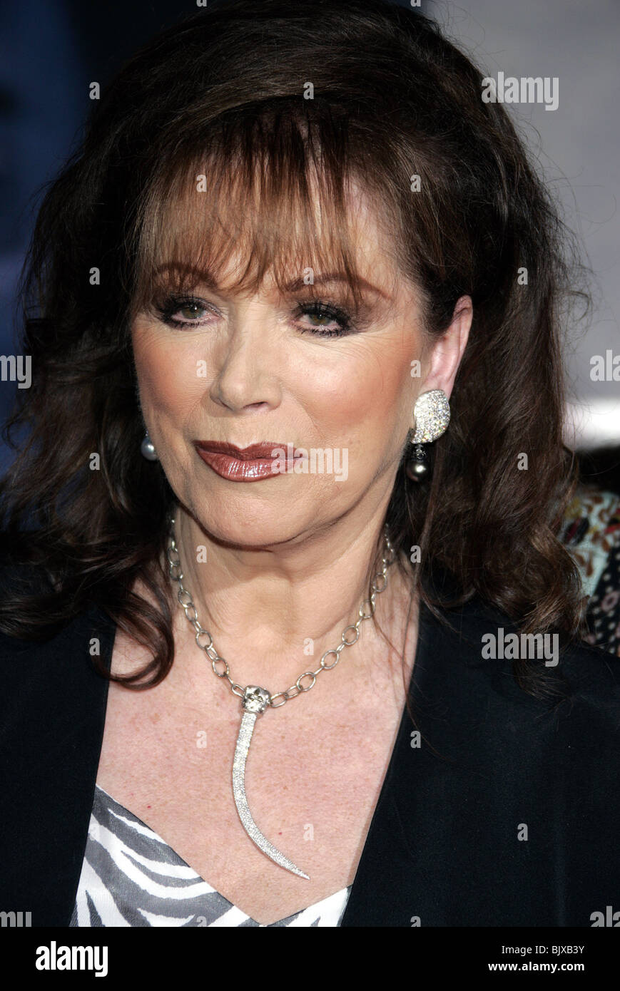 JACKIE COLLINS THE PRESTIGE WORLD PREMIERE HOLLYWOOD LOS ANGELES USA 17 October 2006 - Stock Image