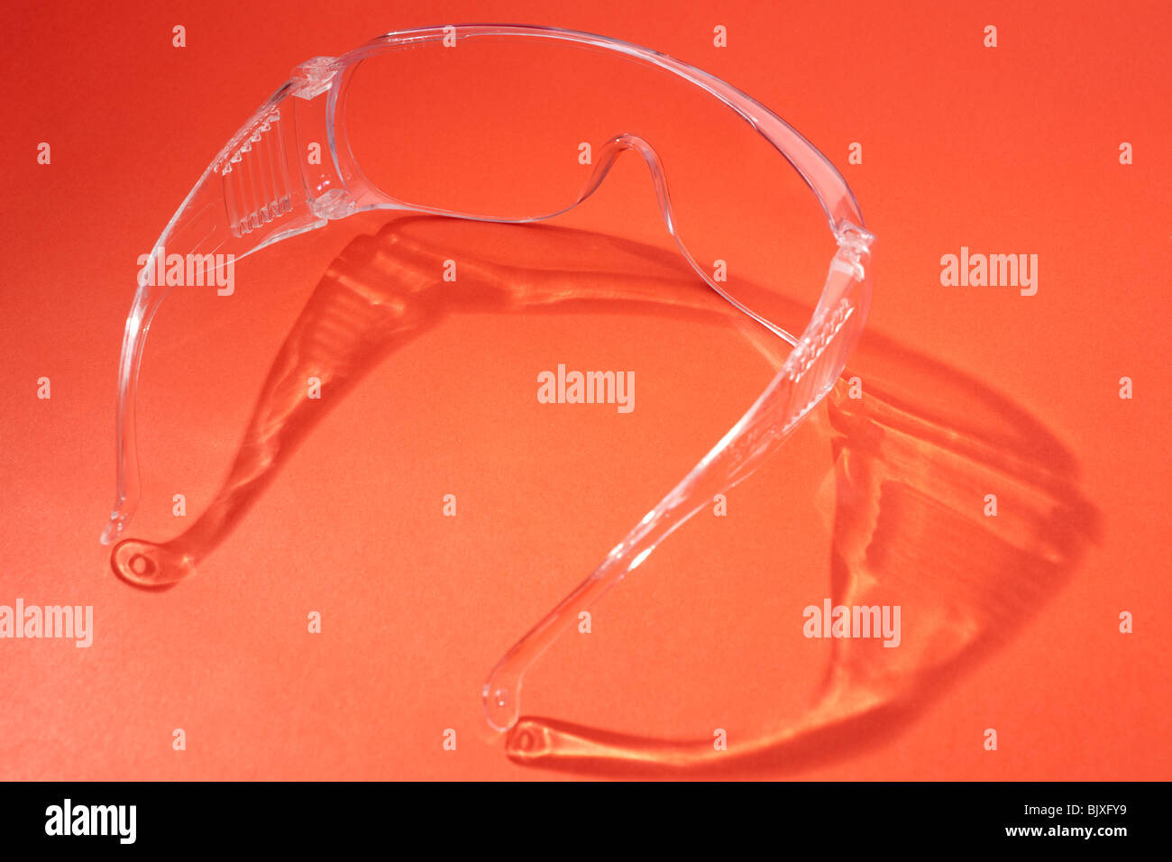 Pair of Safety spectacles - Stock Image