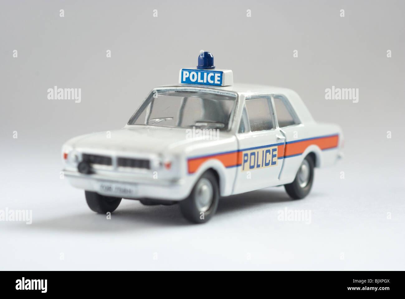 Ford Cortina Police Car (MKII) Stock Photo