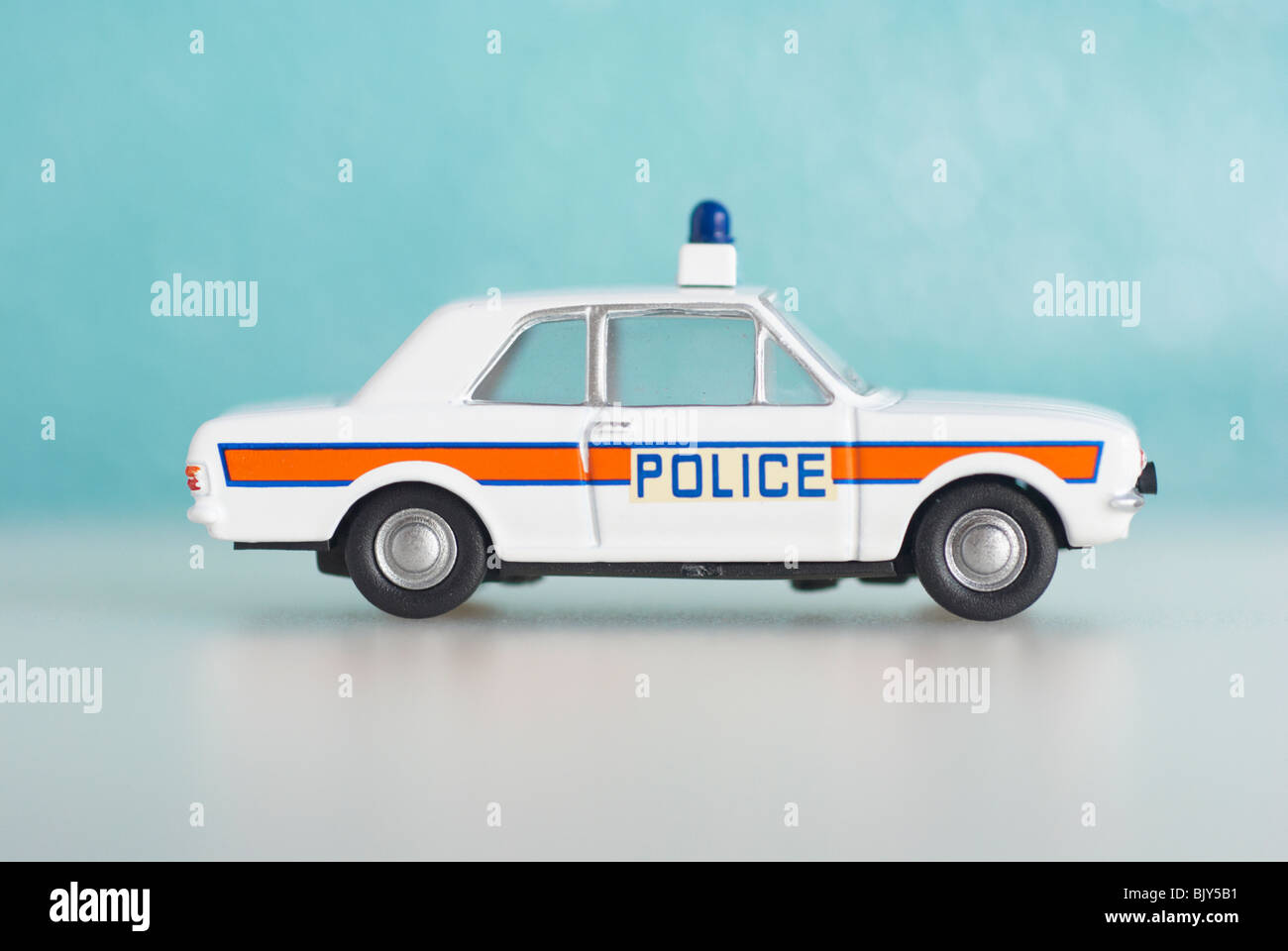 Ford Cortina Police Car (MKII) Stock Photo