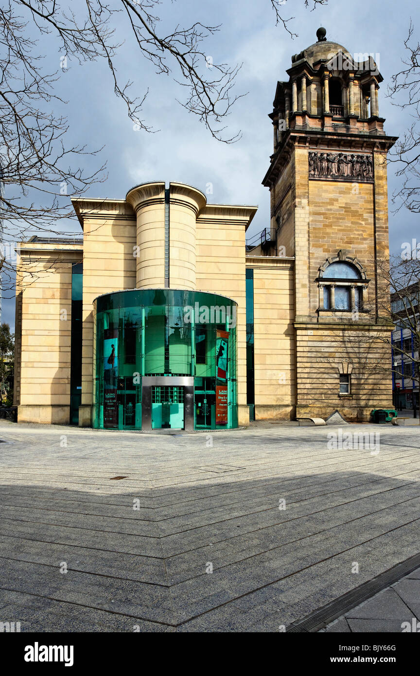 The Laing Art Gallery in Newcastle upon Tyne Stock Photo