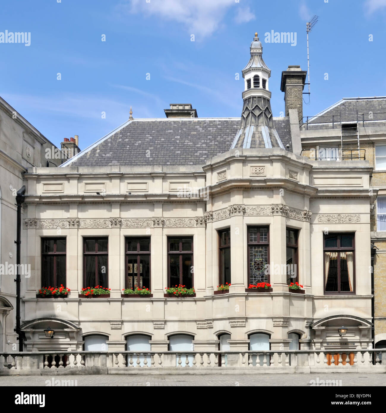 Stationers Hall London - Stock Image