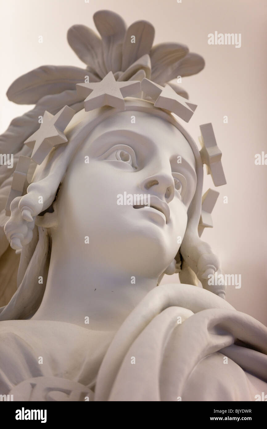 Statue in the U.S. Capitol building, Washington, DC - Stock Image