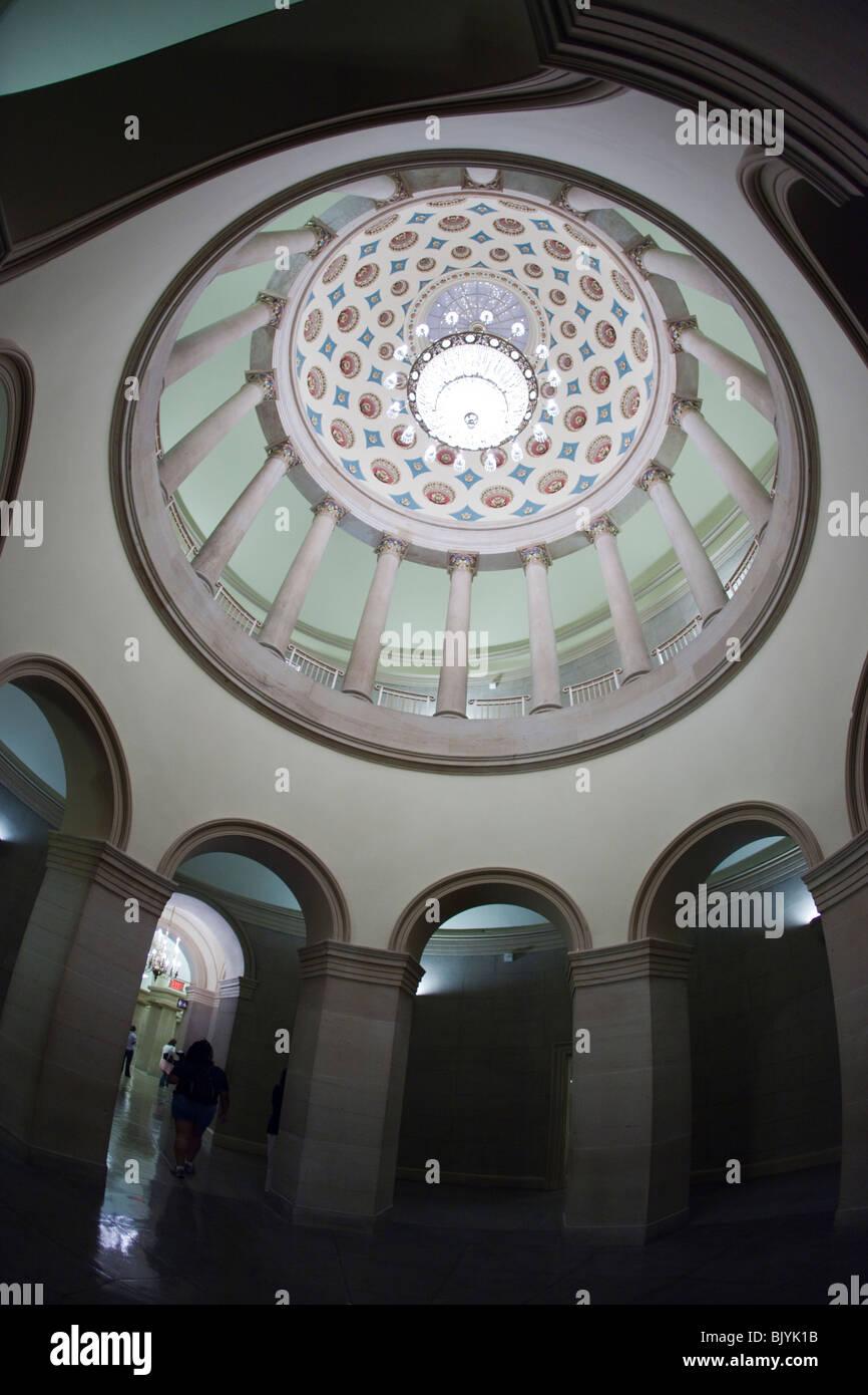 Small Senate Rotunda in the U.S. Capitol building - Stock Image