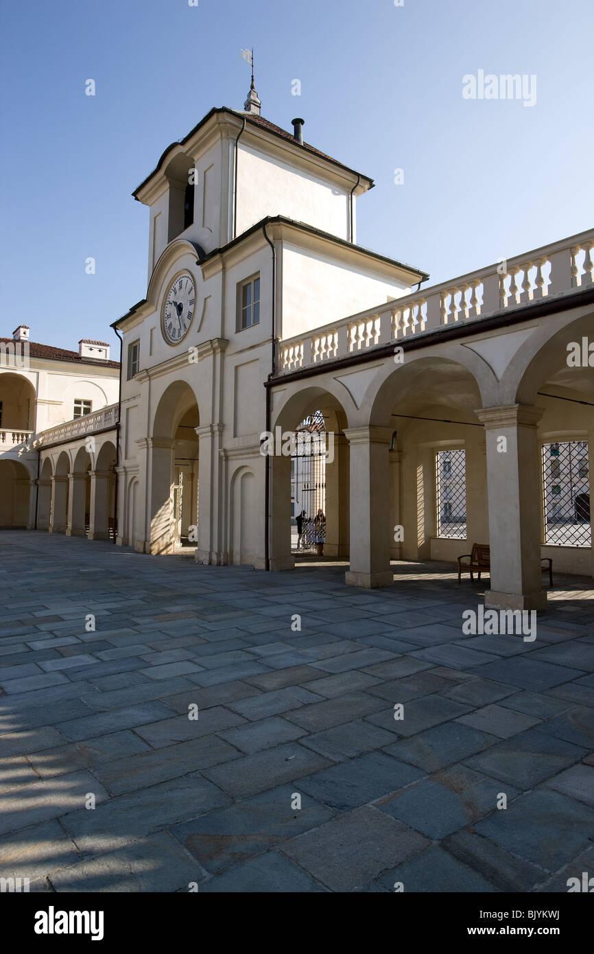 Italy, Piemonte, Turin, Torino, Reggia Venaria Reale, entrance - Stock Image