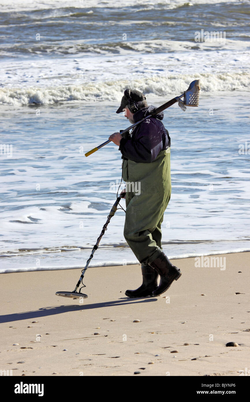 Jew Detector: Man Searching For Treasure With Metal Detector, Smith