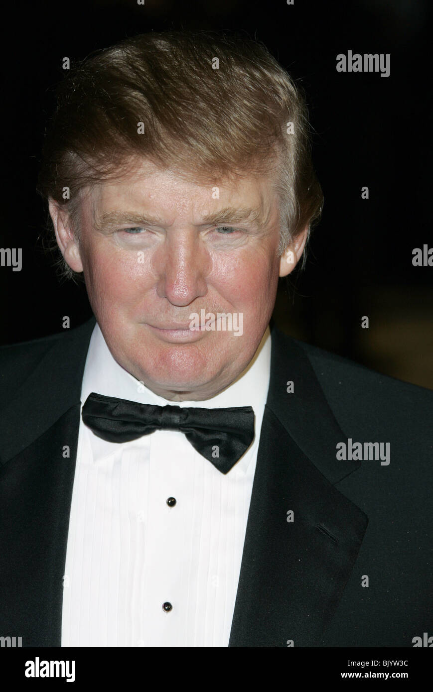 DONALD TRUMP VANITY FAIR OSCAR PARTY 2005 MORTONS WEST HOLLYWOOD LA USA 27 February 2005 - Stock Image