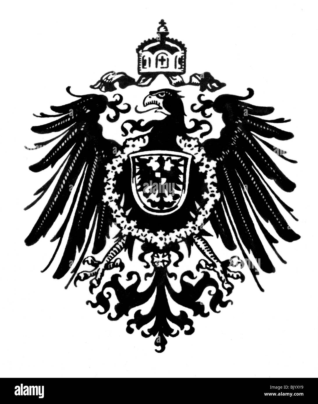German Imperial Eagle Stock Photos German Imperial Eagle Stock