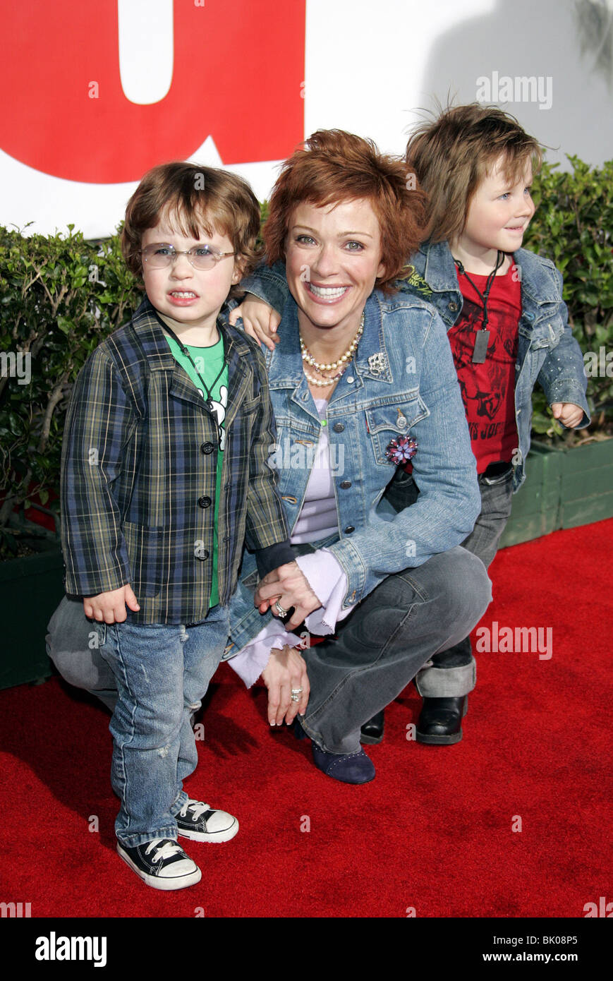 Photo de Lauren Holly  & son fils  George Greco