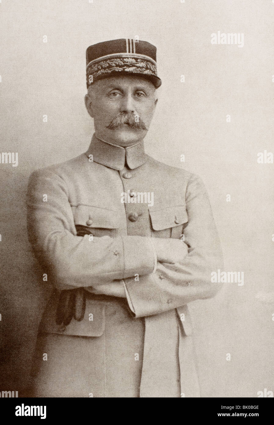 Henri Philippe Benoni Omer Joseph Pétain 1856 – 1951. French general and Marshal of France. Chief of State - Stock Image