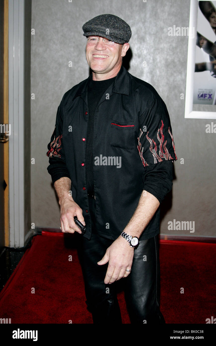 MICHAEL ROOKER THIEF TV SERIES PREMIERE WEST HOLLYWOOD CALIFORINA USA 21 March 2006 - Stock Image