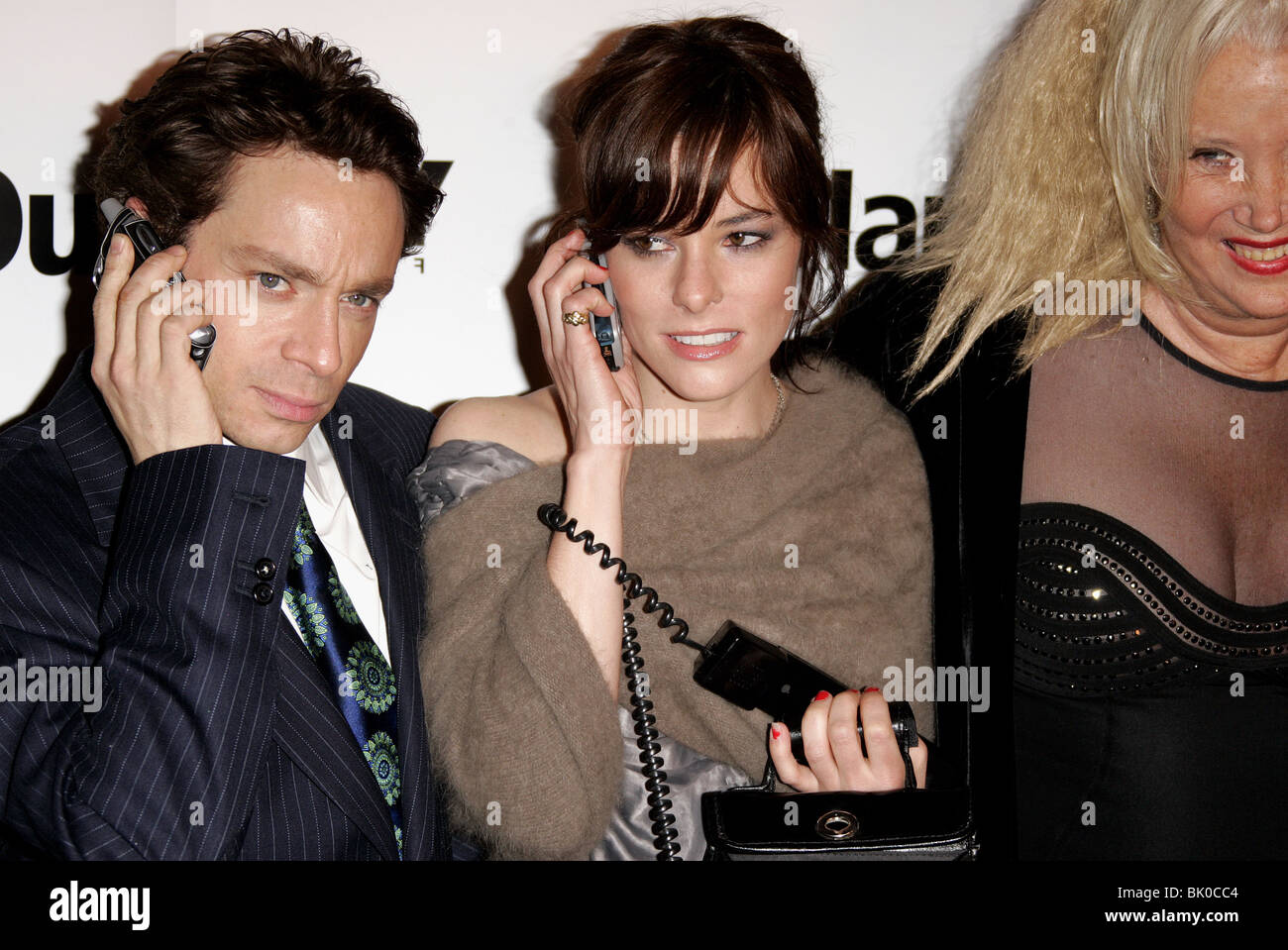 CHRIS KATTAN & PARKER POSEY ADAM & STEVE PREMIERE ARCLIGHT HOLLYWOOD LOS ANGELES USA 22 March 2006 - Stock Image