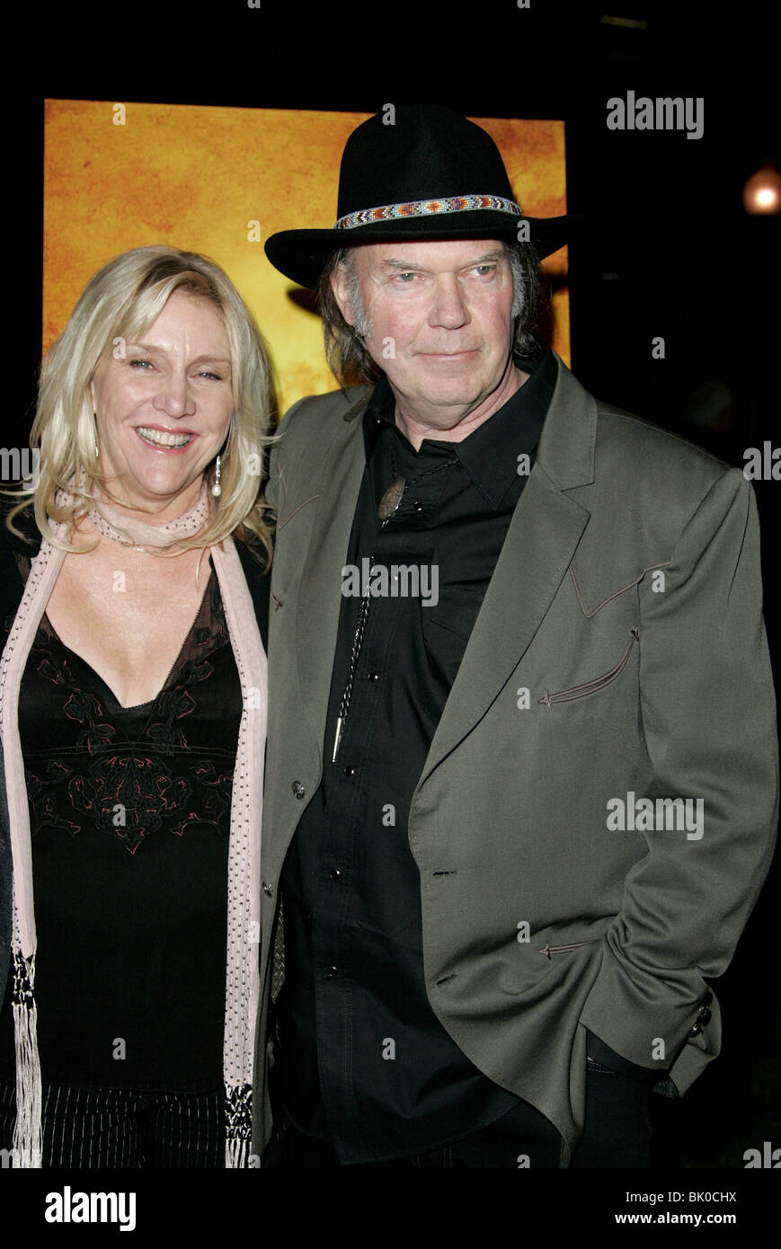 neil young and his wife pegi stock photos amp neil young and