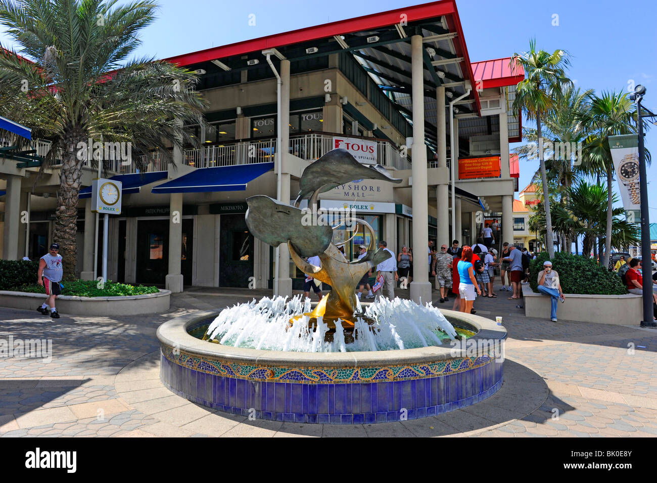 Cayman Islands Downtown