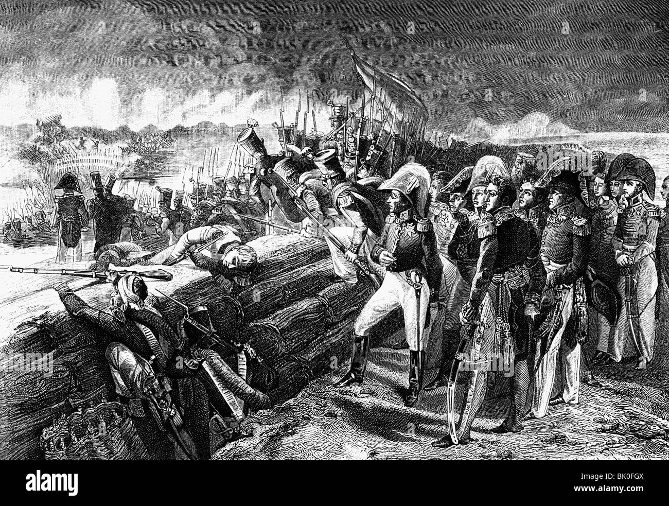 geography / travel, Spain, revolution 1820 - 1823, French intervention,  storming of the Trocadero, Cadiz, 30.8.1823, wood engraving, 19th century,  ...