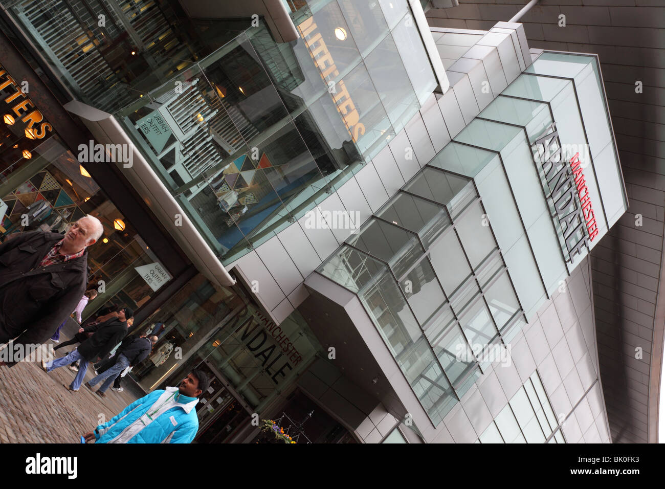 Manchester`s Arndale Se commerce field.hopping Center,a hive of activity in th - Stock Image